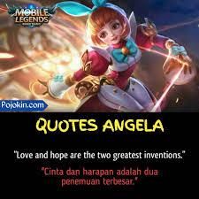 pojokin pojokin angela adalah salah satu karakter di game