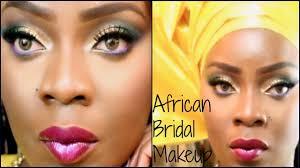 african nigerian bridal makeup