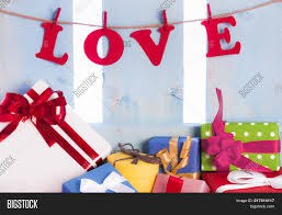 Love Word Colorful Image Photo Free Trial Bigstock