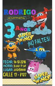 Invitacion Digital Super Wings 150 00 En Mercado Libre