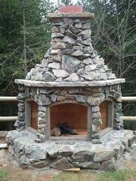 outdoor fire place just a thought