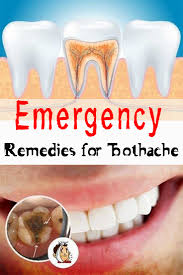 emergency remes for toothache