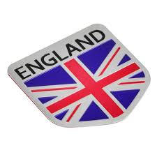 Aluminum Shield Metal England Uk Flag Auto Car Grill Emblem Badge Sticker Decal Ebay In 2020 Uk Flag Garden Ideas England England Uk