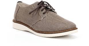 preston linen oxfords in brown for men