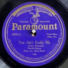 Priscilla Stewart -- You Ain't Foolin Me / True Blues
