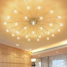 Modern Star Chandeliers For Living Room Bedroom Kids Room Chandeliers Indoor House Girls Room Chandelier Moon Lighting Fixtures Chandeliers Aliexpress