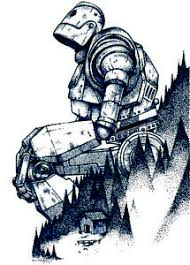 The Iron Giant Looking 3 6 Vinyl Decal Stickers Ebay