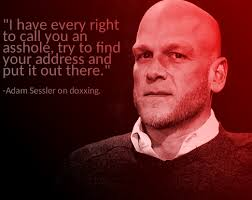 StopDoxxing — Adam Sessler everyone! He supports people...