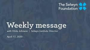 Hilda Johnson, Director Selwyn Institute - YouTube