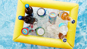 this diy floating cooler means you