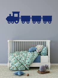 Train Wall Decal Train Decals Kids Room Decor Train Decor Art Wall Kids Girls Room Decor Kid Room Decor