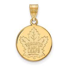sterling silver w gp nhl logoart