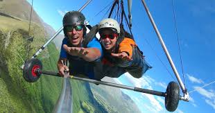 queenstown tandem hang gliding