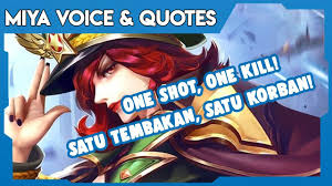 miya mobile legends sayings