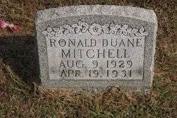 Ronald Duane Mitchell (1929-1931) - Find A Grave Memorial