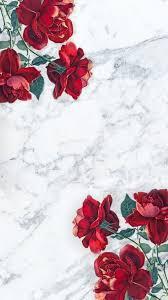 marble phone wallpaper roses image