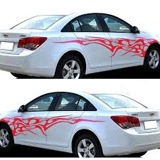 Tribal Flames Graphics Vinyl Tattoos Car Truck Decal Vinyl Graphics Body Vinyl Stickers Tuning Decals Flame Free Shipping Aliexpress