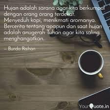 hujan adalah sarana agar quotes writings by eviie
