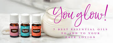adding essential oils to lotion young