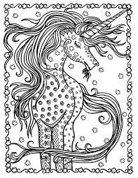 Unicorn Instant Download Fantasy Kleurplaten Pagina S Volwassen
