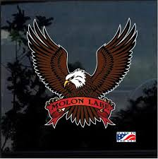 American Eagle Molon Labe Color Outdoor Molon Labe Window Decal Sticker Custom Sticker Shop