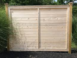 Cedartech Wood Fences By The Fence Authority Parts Installation