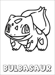 Pokemon Coloring Page Bulbasaur Coloring Pages Kleurplaten