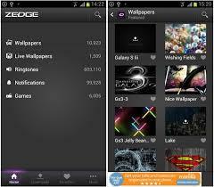 app zedge free wallpapers ringtones