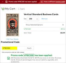 vistaprint free business cards 500 for