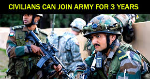 indian army tour of duty for civilians