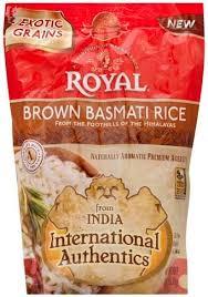 royal basmati brown rice 8 oz