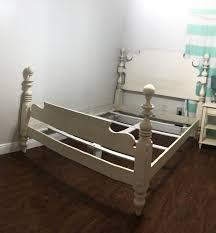 ethan allen quincy queen size bed in
