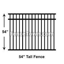 54 Inch Tall Aluminum Fence Panels Aluminum Pool Fence Panels
