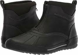 black leather boot waterproof