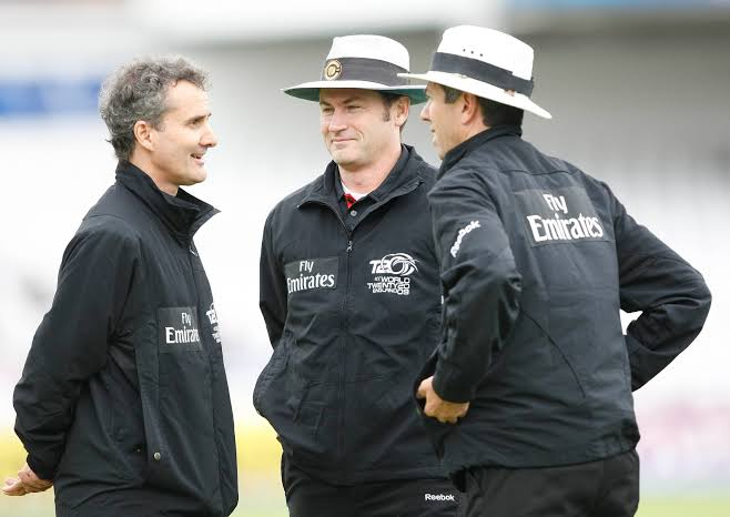 Image result for simon taufel and billy bowden""