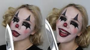 easy clown makeup tutorial