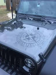 Sticker For Jeep Car Truck Bumper Wall Window Or Home Decor Compass Vinyl Decal Ushirika Coop