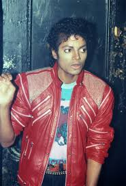 famous red leather jacket