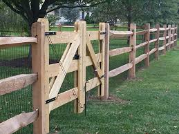 Wood Fencing Design Installations Pa Sabia Landscaping
