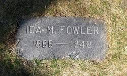 Ida Mae Knapp Fowler (1866-1948) - Find A Grave Memorial