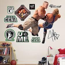 Amazon Com Fathead Wall Decal John Cena Shoulder Block Home Kitchen