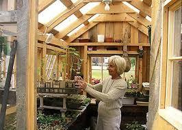 wooden greenhouse kit prefab
