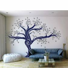 Diy Large Tree Wall Decals Unique Living Room Decal Custom Color Tree Wall Decal Vinyl Bedroom Home Decoration Wallpaper Lc1431 Wall Stickers Aliexpress