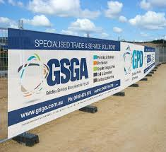Fence Material Mesh Banners Gsga