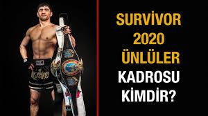 Survivor 2020 Ünlüler Kimdir? - YouTube
