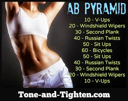 ab workout climb the ab pyramid