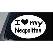 I Love My Neapolitan Mastiff English Mastiff Truck Window 6 Sticker Decal Walmart Com Walmart Com