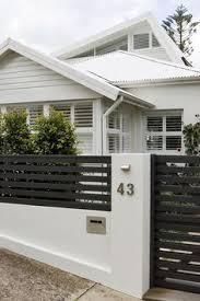 Black Fence In 2020 Modern Fence Design Modern Front Yard House Entrance