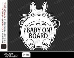 Ghibli Totoro Catbus Decal Cat Bus Nekobus Studio Vinyl Car Truck Window Sticker For Sale Online Ebay