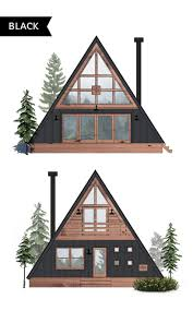 affordable a frame cabin in a box